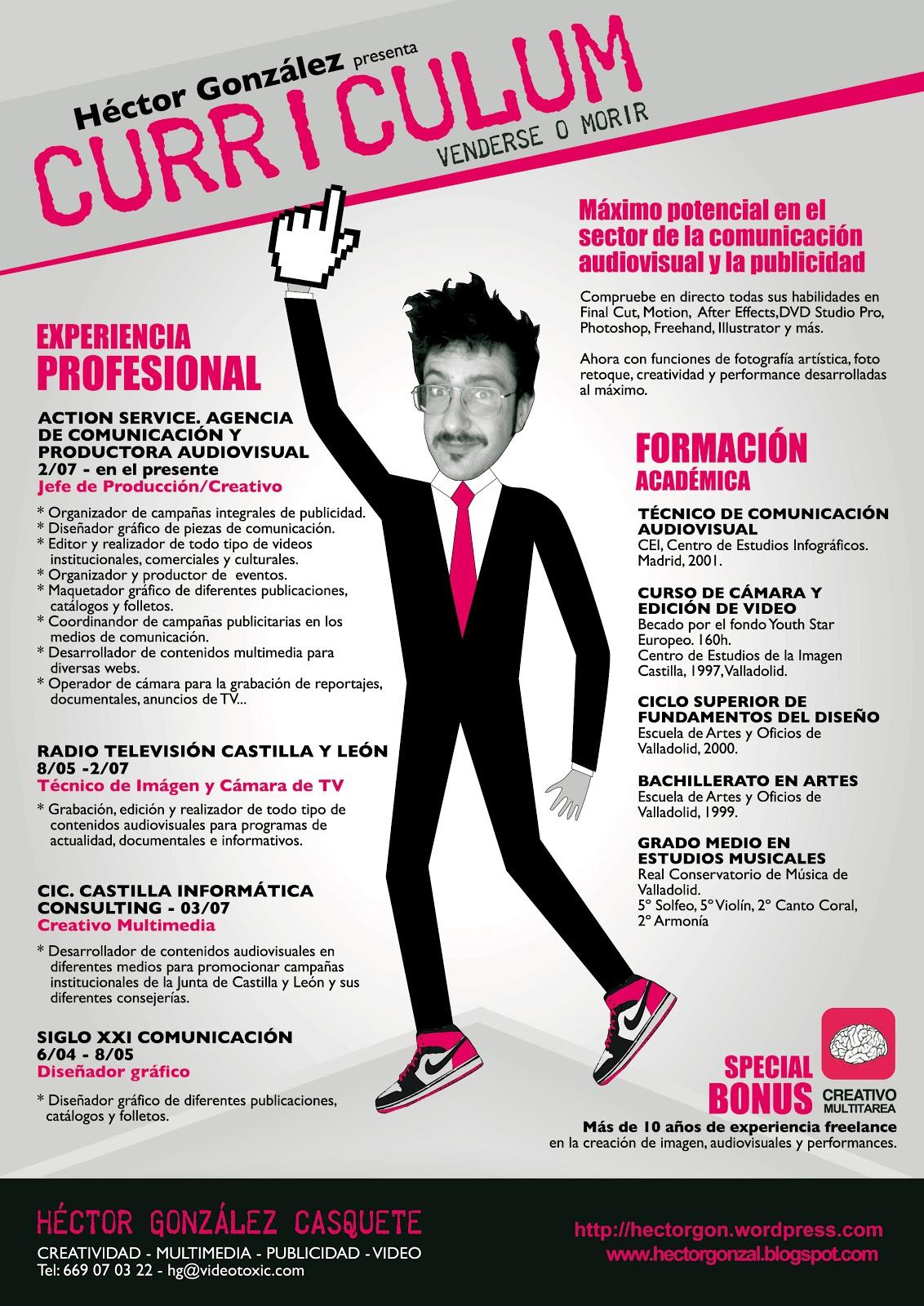 Cómo hacer un currículum creativo?
